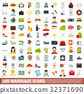 100 marriage icons 32371690