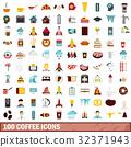 100 咖啡 图标 32371943