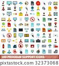 100, program, support 32373068