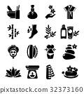 spa, salon, icon 32373160