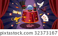 magician, table, horizontal 32373167