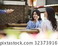 飯廳 餐廳 年輕女子 32373916