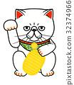招財貓 一隻貓 波斯貓 32374966