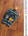 Slipper with seashell 32380562