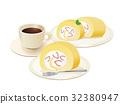 jelly roll, roll cake, swiss roll 32380947