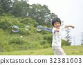 soap bubbles, soap bubble, younger 32381603