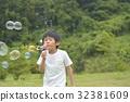 soap bubbles, soap bubble, younger 32381609