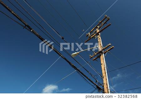 木電線桿 32382568