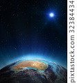 Australia 3d planet 32384434