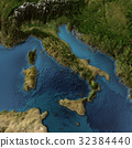 Italy 3d map 32384440