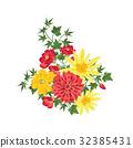 开花 花束 问候 32385431