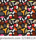 cartoon, mushroom, background 32386114