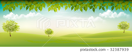 Summer nature background  32387939