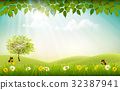Summer nature background  32387941