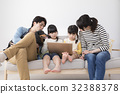 姐妹 父母和小孩 親子 32388378