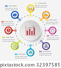 Infographic template with loan icons 32397585
