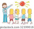 防灾 灾难预防训练 小学生 32399016
