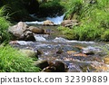 mountain stream, mountain torrent, river 32399889