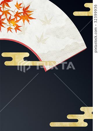 折扇 背景材料 背景素材 32399936