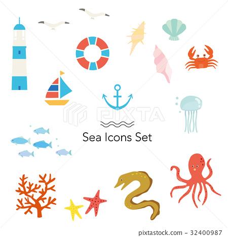 海 大海 海洋 32400987