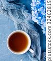 컵, 배경, 꽃 32402815