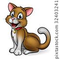 Cartoon Pet Cat Mascot 32403241