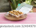 Japanese food Tako Yaki on Box 32404970