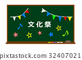 黑板 粉筆板 文化節 32407021