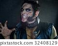 Professional make-up werewolf Wolverine 32408129