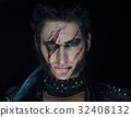 Professional make-up werewolf Wolverine 32408132