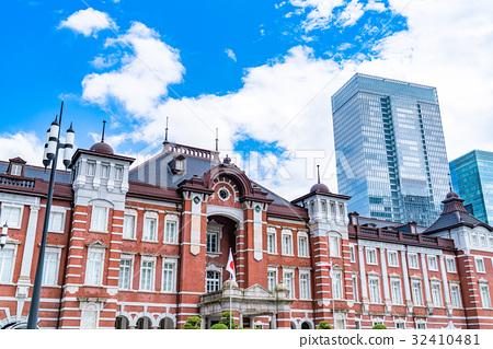 """Tokyo Station · Urban landscape """"July"""" 32410481"""