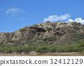 하와이 오아후 섬 주립 기념 공원 다이아몬드 헤드 분화구 32412129