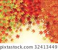 단풍, 벡터, 낙엽 32413449