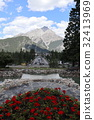 mountain, flower bed, flower garden 32413969