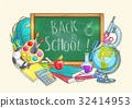 Back to school welcome banner background 32414953
