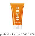 Sunscreen illustration 32416524