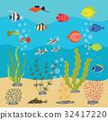 aquarium,background,vector 32417220