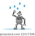 rain, rainy, robot 32417306
