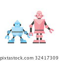 robot, vector, vectors 32417309