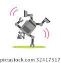 機器人 舞 舞蹈 32417317