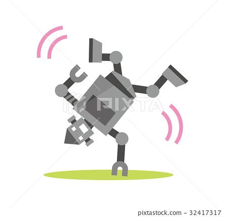 机器人 舞 舞蹈 32417317