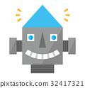 face, facial, grinning 32417321