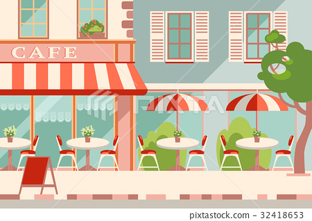 Modern flat vector horizontal illustration 32418653