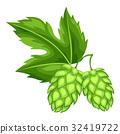 跳 樹葉 綠色 32419722