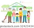 housing, residential, three generations 32423434