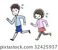 马拉松赛跑 慢跑 练习 32425937