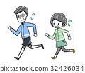 马拉松赛跑 慢跑 练习 32426034