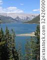canadian rockies, banff, minnewanka lake 32426090