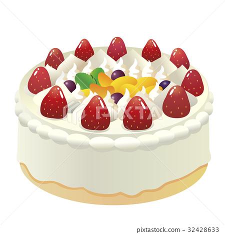Fruit decoration Hall cake 2 32428633