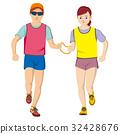 视障者 马拉松赛跑 人 32428676